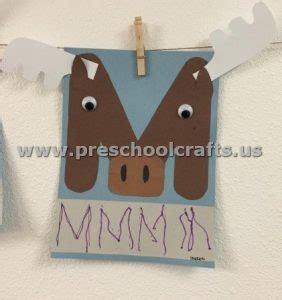letters crafts  preschoolers preschool  kindergarten