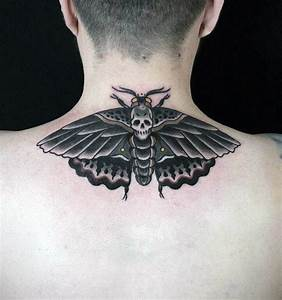 90 Moth Tattoos For Men - Nocturnal Insect Design Ideas