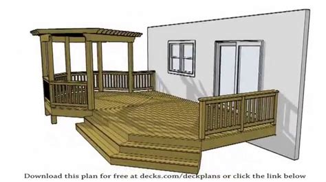 deck plans    plans    diy youtube