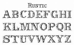 vintage typography rustic the graphics fairy With rustic lettering alphabet