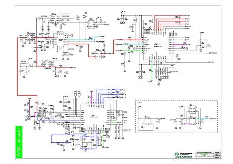 Diagram Of Sony by Sony W200 A3 C L3 V21a66010c1w Sch Service Manual