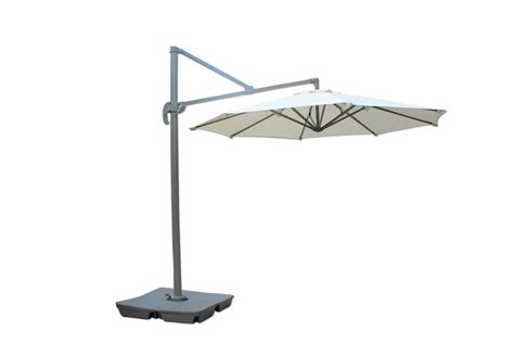 kontiki shade cooling offset patio umbrellas 10 ft
