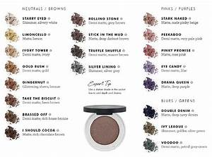 Eyeliner Chart Lily Mineral Makeup Products Official Australian
