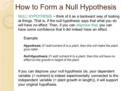 howtoformanullhypothesis   null hypothesis  research museumlegs