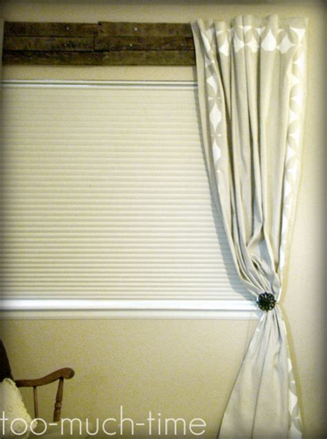 diy custom window treatments painted and stenciled curtains