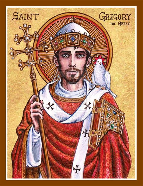 Image result for Images of st. gregory the great