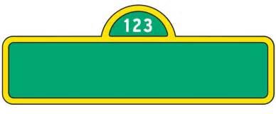 Logos For   Sesame Street Logo Vector  Sesame Street Logo Vector