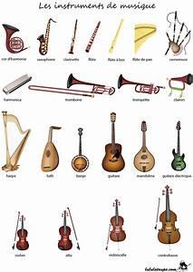 Fiche pédagogique à imprimer, les instruments de musique Lulu la taupe, jeux gratuits pour enfants