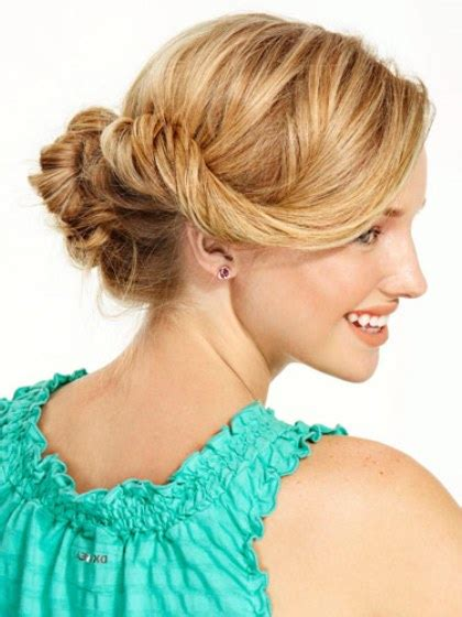 Twisted Knots Hairstyle by Stunning Hairstyles For Prom