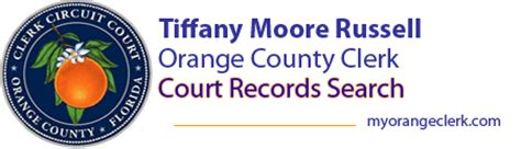 orange county clerk  courts records search