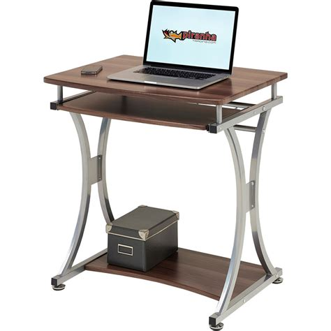 small computer desk compact computer desk with keyboard shelf for home office 2331