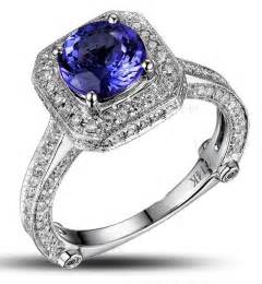 engagement ring sales closeout sale bestselling 1 50 carat antique halo engagement ring with blue sapphires and