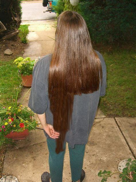17 Best images about trimming long hair on Pinterest