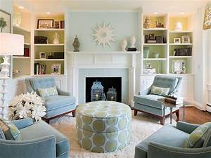 Our 40 fave designer living rooms hgtv for What kind of paint to use on kitchen cabinets for sofa size wall art