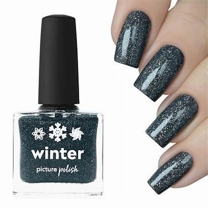 Winter Nail Polish Grey