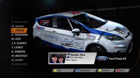 Wrc World Rally Championship 4 All The Cars On The Game