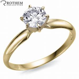 079 carat g i2 single solitaire diamond engagement ring With single solitaire wedding rings
