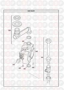 Main Multipoint Ff Water Heater  Gas Valve  Diagram