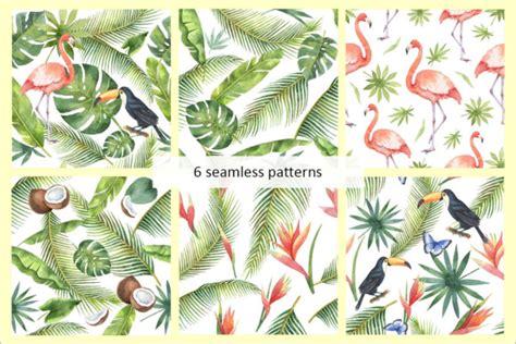 tropical wild templat best wildlife tropical patterns free premium templates