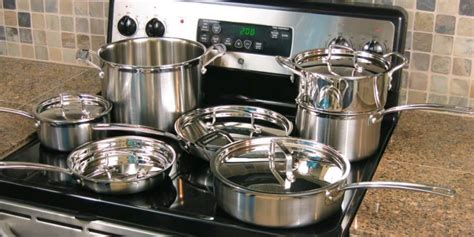 cookware glass stove stoves range electric pans pots sets steel stainless gas smooth cuisinart oven ceramic mcp multiclad 12n ranges