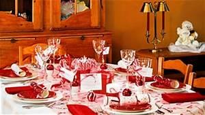Table De Noel Traditionnelle : splendide table de no l ~ Melissatoandfro.com Idées de Décoration