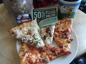 Buy half price Pizza online only till March 27th, got some ...