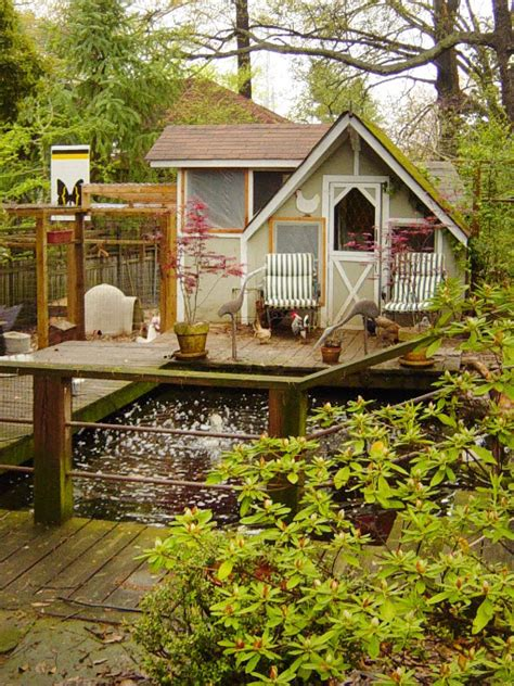 chicken garden design the birds and the bees it s back to the earth functionality in more and more backyards besides