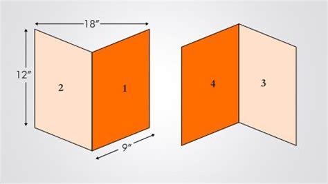 business card template 12x18 folded brochure 12x18 brochures printpapa
