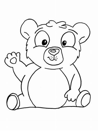 Coloring Pages Panda Bear Popular