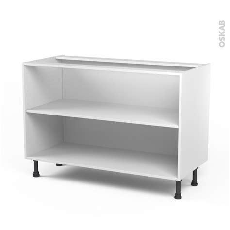 caisson cuisine 19mm caisson bas n 10 meuble de cuisine l120 x h70 x p56 cm sokleo oskab