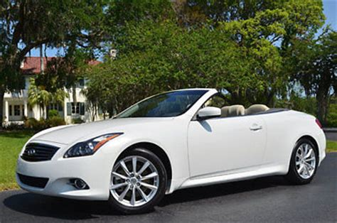 Infiniti Sales 2016 by 2013 Infiniti G37 Convertible For Sale