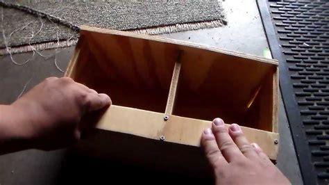 button quail nest box youtube