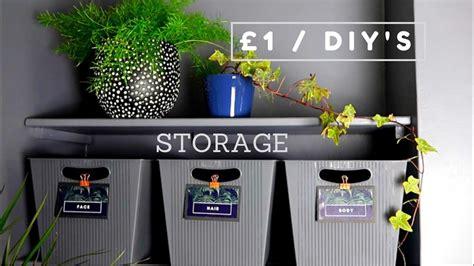 poundland dollar store diy storage  diy decor hack