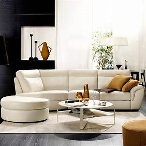 Cult by natuzzi italia contemporary family room for Cult sectional leather sofa by natuzzi italia