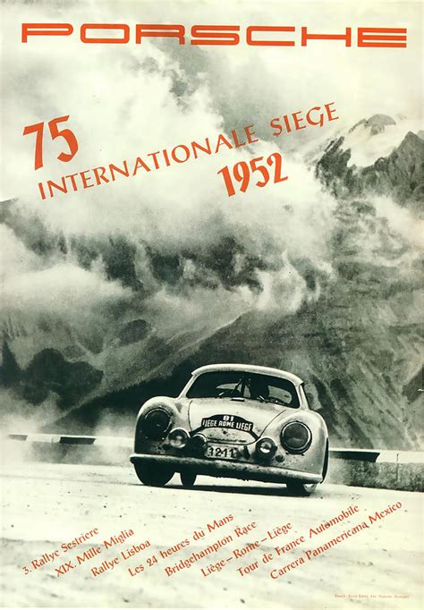 porsche 1952 internationale siege rally digital by