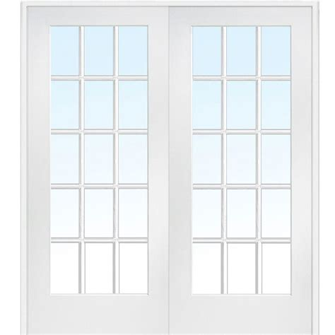home depot prehung interior door mmi door 72 in x 84 in both active primed composite