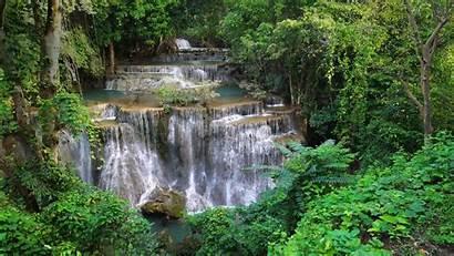 Bing Waterfall Khuean Srinagarindra National Park Thailand