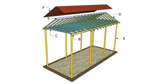 carport plans build  diy carport   budget