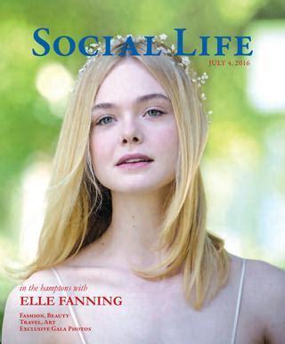 Social Life - July 2016 - Elle Fanning by Social Life
