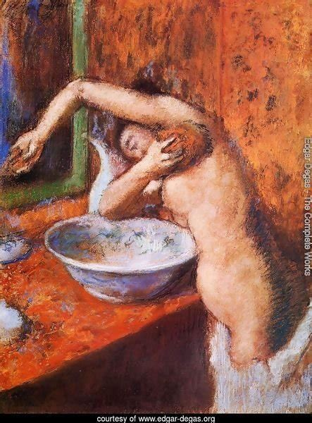 Edgar Degas The Complete Works Woman Washing Herself I