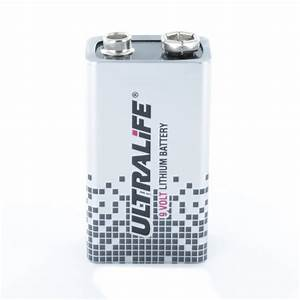 9 Volt Batterie : ultralife 9 volt lithium pp3 9v battery u9vl jp cell pack solutions ~ Markanthonyermac.com Haus und Dekorationen