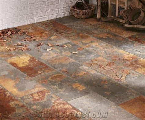 tile flooring rustic riven rustic slate floor tile from united kingdom stonecontact