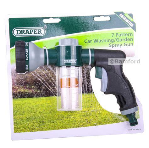 Draper Car Washing/garden Hose Pesticide/fertiliser Spray