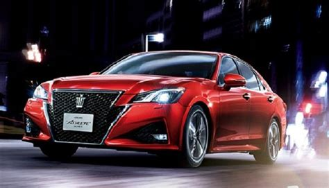 2018 Toyota Crown Release Date, Review, Price, Spy Shots