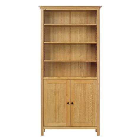 oak bookcase with doors oak bookcases with doors oak bookshelves with glass doors