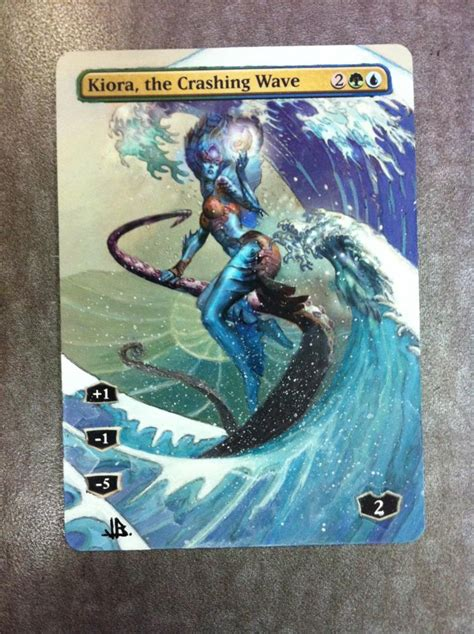 Kiora The Crashing Wave Duel Deck by Kiora The Crashing Wave Alter By Jb Alterz 97