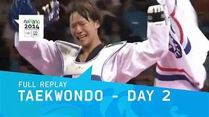 Taekwondo - Chinese Taipei Double Gold | Full Replay ...
