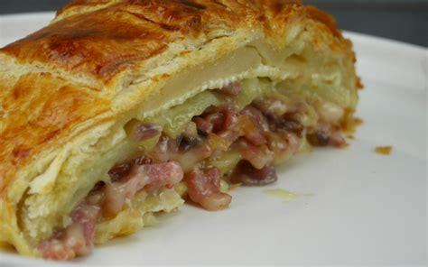 recette feuillet 233 au camembert lardons et pommes de terre