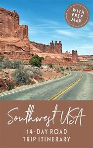 Blog Road Trip Usa : a two week southwest usa road trip itinerary on the luce travel blog ~ Medecine-chirurgie-esthetiques.com Avis de Voitures