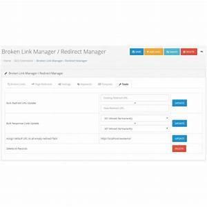 OpenCart - Broken Link Redirect Manager / Auto Redirect ...